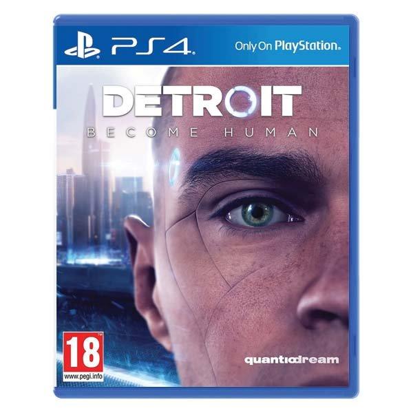 Detroit: Become Human[PS4]-BAZAR (použité zboží)