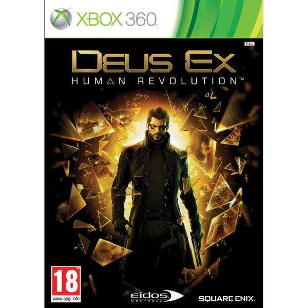 Deus Ex: Human Revolution[XBOX 360]-BAZAR (použité zboží)