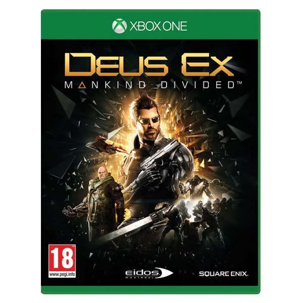 Deus Ex: Mankind Divided[XBOX ONE]-BAZAR (použité zboží)