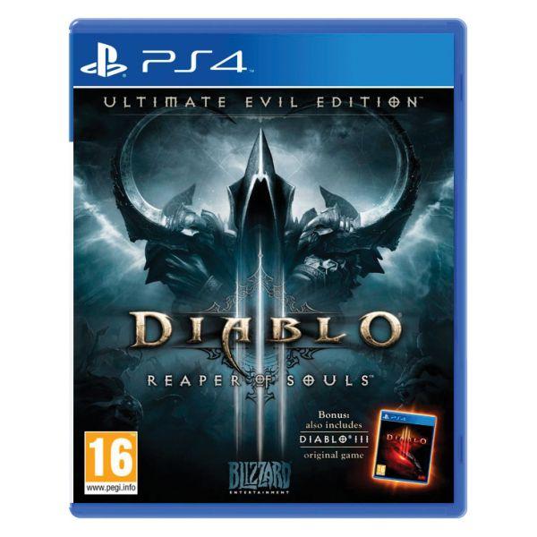 Diablo 3: Reaper of Souls (Ultimate Evil Edition)[PS4]-BAZAR (použité zboží)
