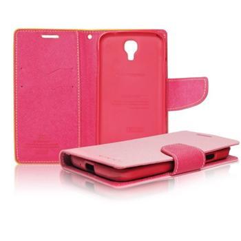 Diářové pouzdro Mercury pro Samsung Galaxy Trend - S7560, Samsung Galaxy Trend Plus - S7580, Pink