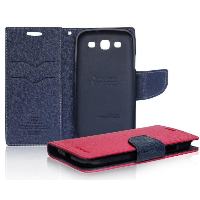 Diář pouzdro Mercury pro Samsung Galaxy Trend - S7560, Samsung Galaxy Trend Plus - S7580, PinkBlue