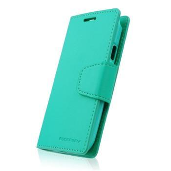 Diářové pouzdro SONATA Mercury pro Samsung Galaxy Trend - S7560, Samsung Galaxy Trend Plus - S7580, Mint