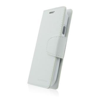 Diář pouzdro SONATA Mercury pro Samsung Galaxy Trend - S7560, Samsung Galaxy Trend Plus - S7580, White