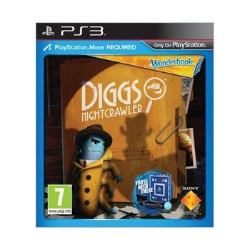 Wonderbook: Diggs Nightcrawler CZ Sony PlayStation Move Starter Pack PS3
