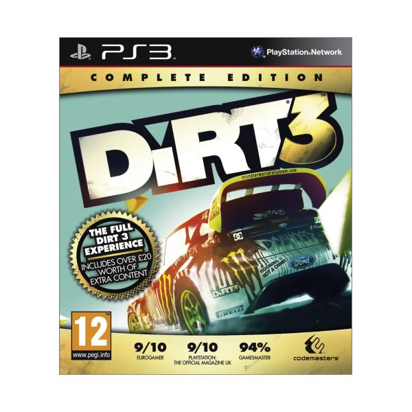 DiRT 3 (Complete Edition) PS3