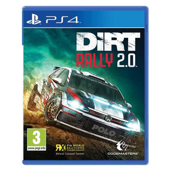 DiRT Rally 2.0[PS4]-BAZAR (použité zboží)