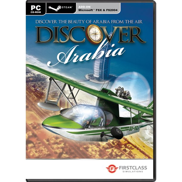 Discover Arabia (Microsoft Flight Simulator X Steam Edition Add-On) PC