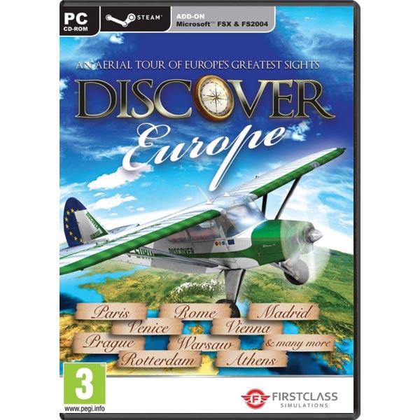 Discover Europe (Microsoft Flight Simulator X Steam Edition Add-On) PC
