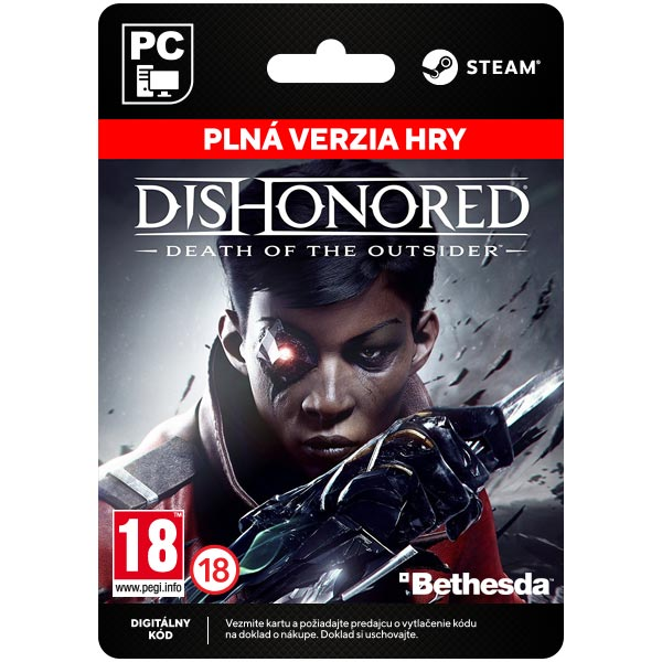 Dishonored: Death of the Outsider[Steam]