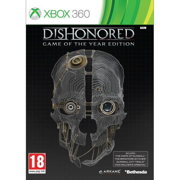 Dishonored (Game of the Year Edition)[XBOX 360]-BAZAR (použité zboží)