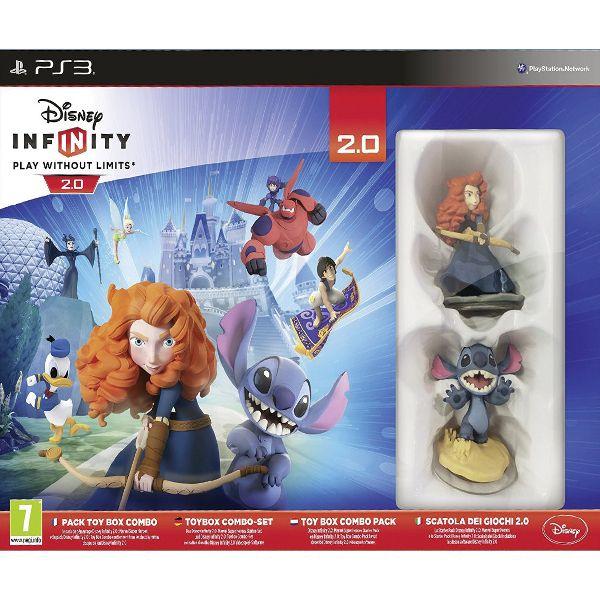 Disney Infinity 2.0: Disney Originals (Toy Box Combo Pack) PS3