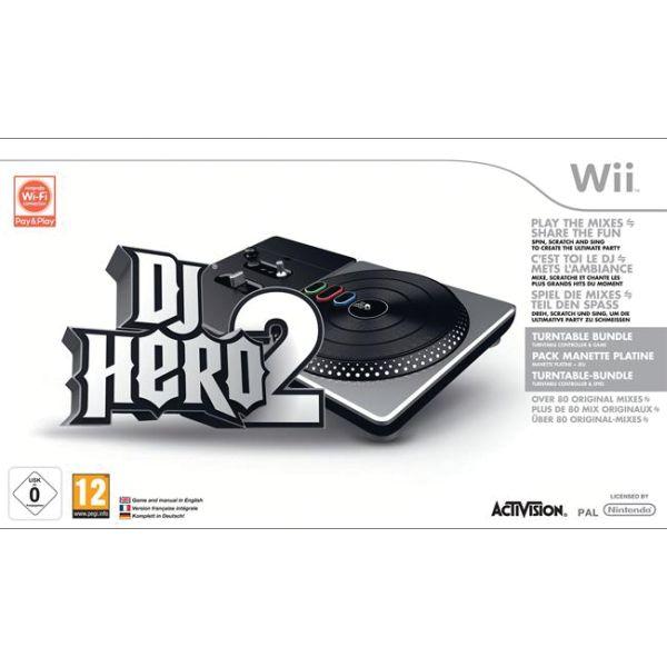 DJ Hero 2 (Turntable Bundle) Wii