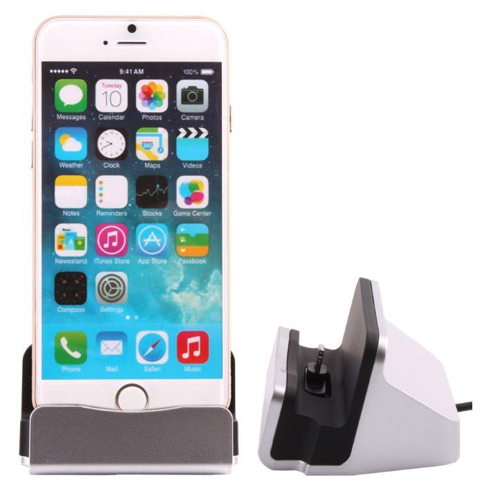 Dokovací stanice BestStation pro Apple iPhone 6 a Apple iPhone 6S, Grey