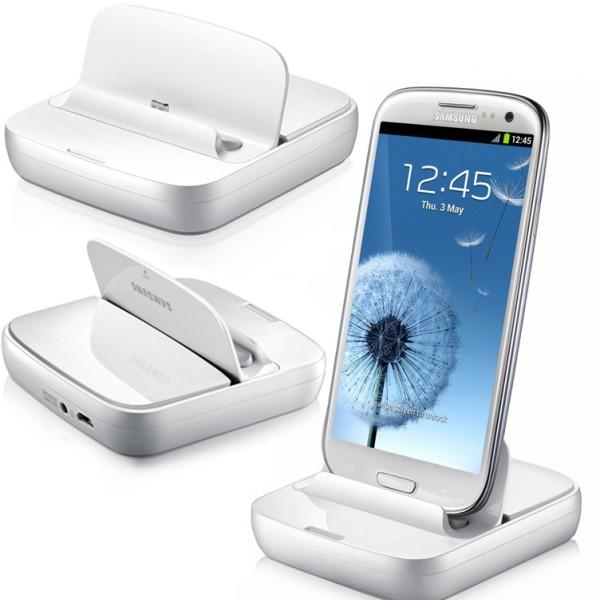 Dokovacia stanica pre smartfón Samsung Galaxy S4 Mini - i9195 a i9190 a S4 Mini VE - i9195i, White