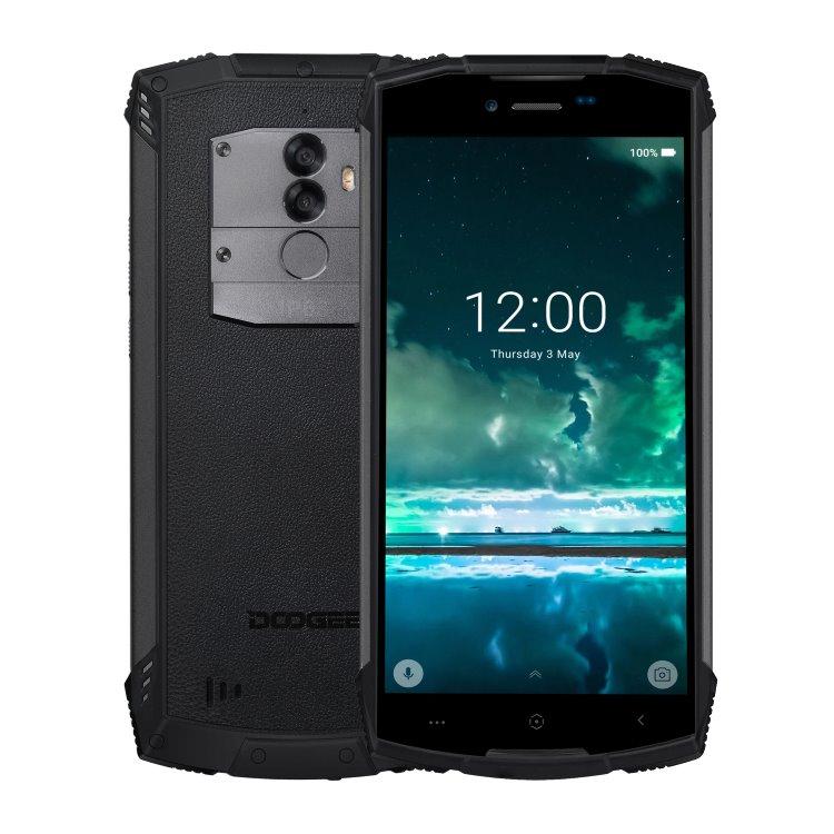 Doogee S55, 4/64GB, Dual SIM, Black-CZ distribuce