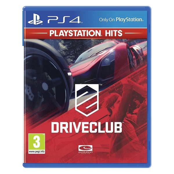 DRIVECLUB[PS4]-BAZAR (použité zboží)