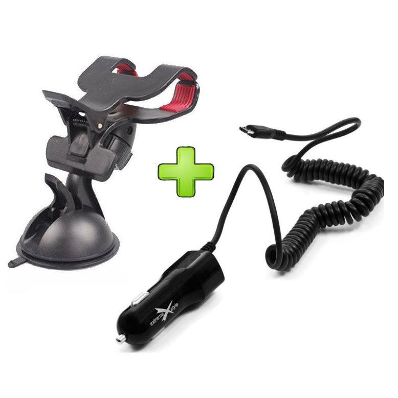Držák do auta + autonabíječka pro Motorola Moto G LTE - XT1039
