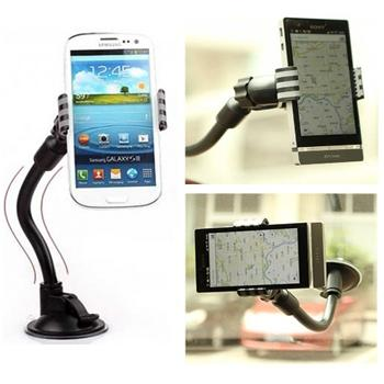 Držák do auta (délka ramene 20cm) pro Samsung Galaxy S Duos 2-S7582, Black