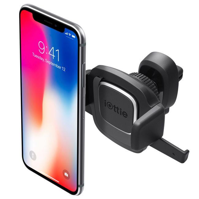 Držák do auta Iotti Easy One Touch 4 do ventilace pro Váš smartphone