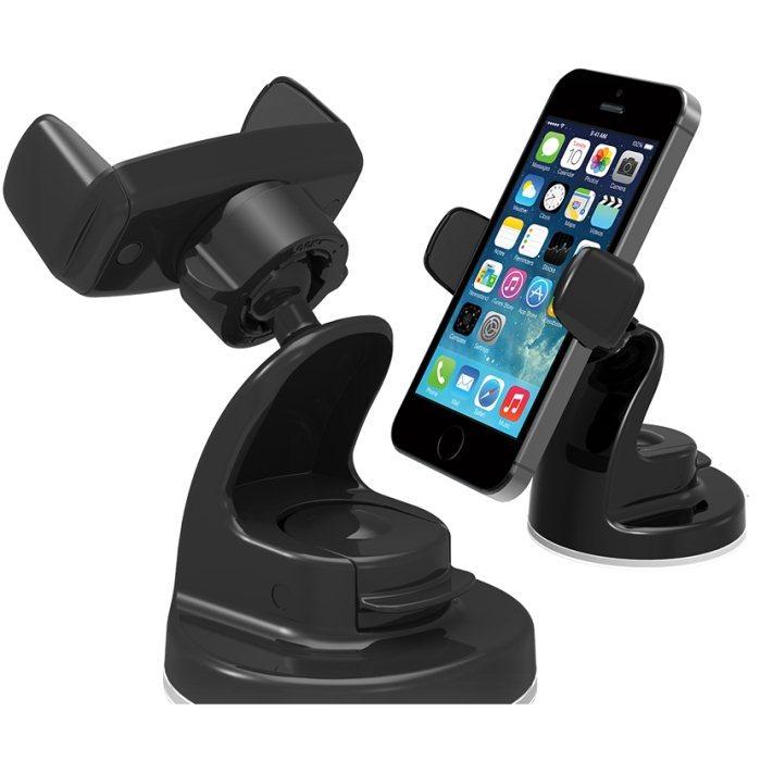 Držák do auta Iotti Easy View 2 na čelní sklo pro Vaš smartphone, Black