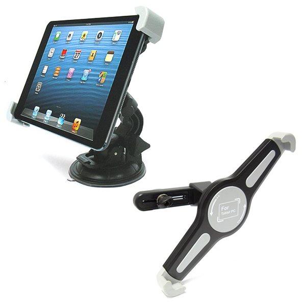 Držák do auta na čelní sklo + hlavovou opěrku pro GoClever Insignia 700 Pro