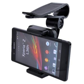 Držák do auta na sluneční clonu pro Alcatel One Touch Scribe HD - 8008D