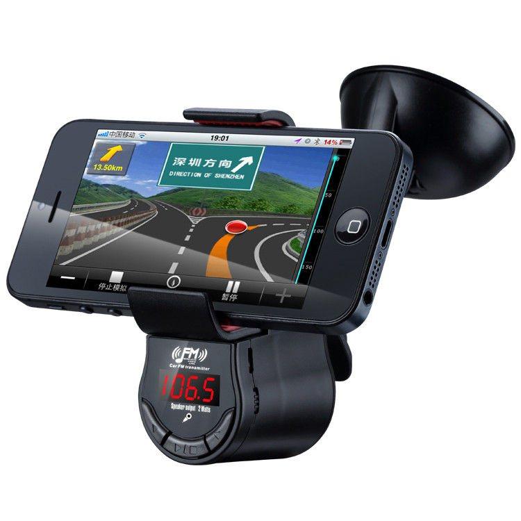 Držák do auta s FM Transmitter pro HTC Butterfly S