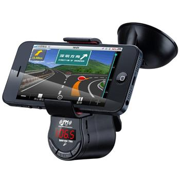 Držák do auta s FM Transmitter pro HTC Desire 320