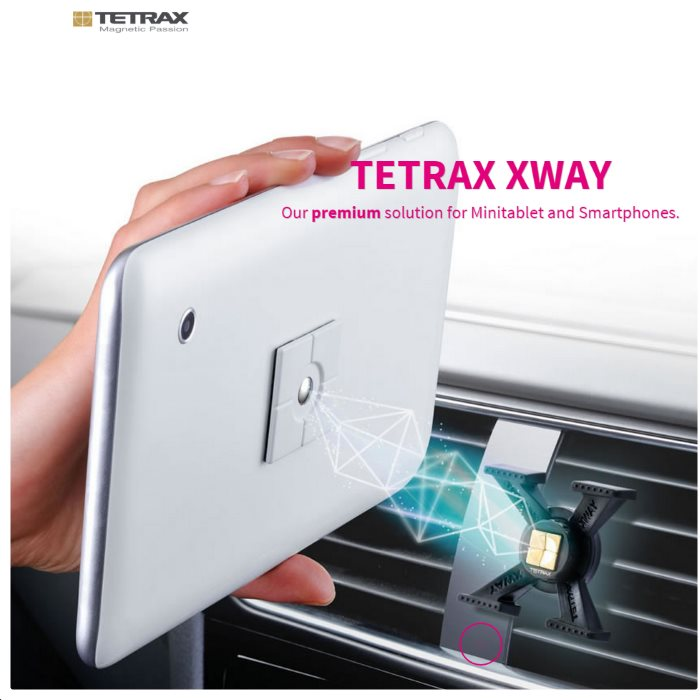Držák do auta Tetrax XWay pro GoClever Quantum 450 Lite