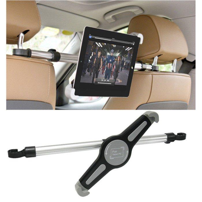 Držák do auta (uchycení na opěrky hlavy) pro Apple iPad