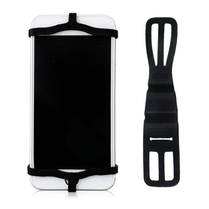 Držák telefonu na koloběžku, silikonový