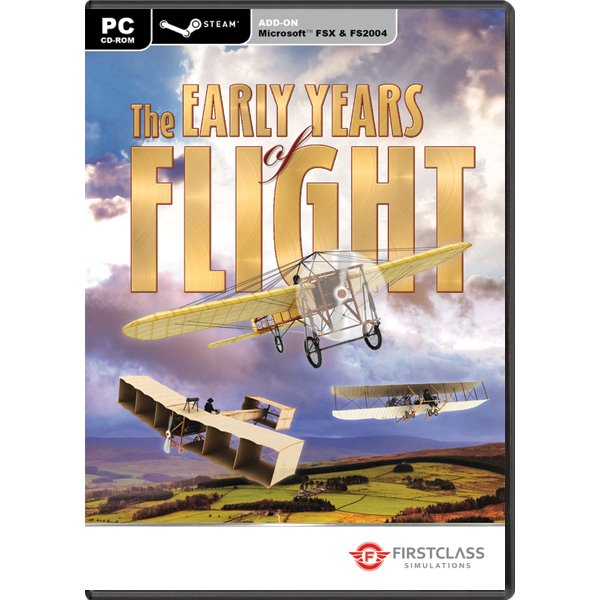 Early Years Of Flight (Microsoft Flight Simulator X Steam Edition Add-On) PC