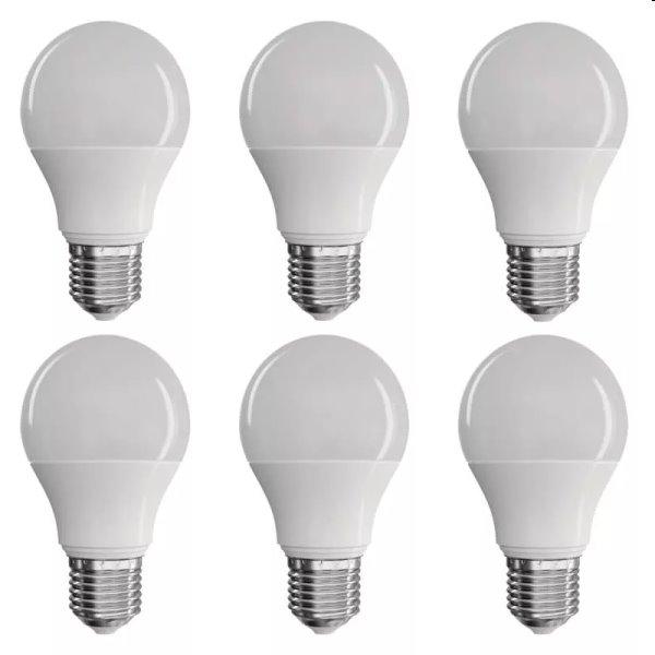 EMOS LED Žárovka Classic A60 9W E27, teplá bílá - 6ks