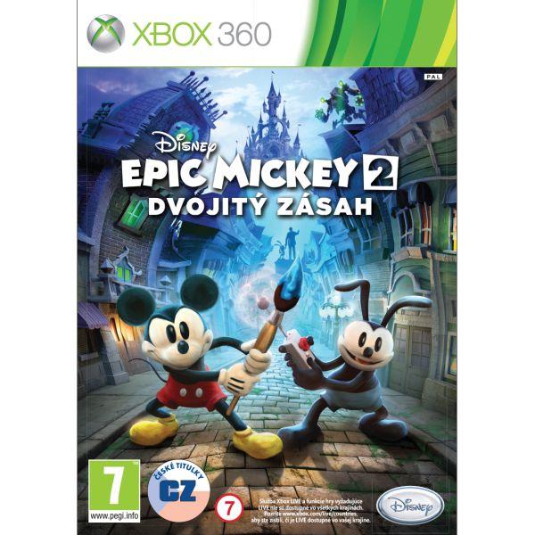 Epic Mickey 2: Dvojitý zásah XBOX 360