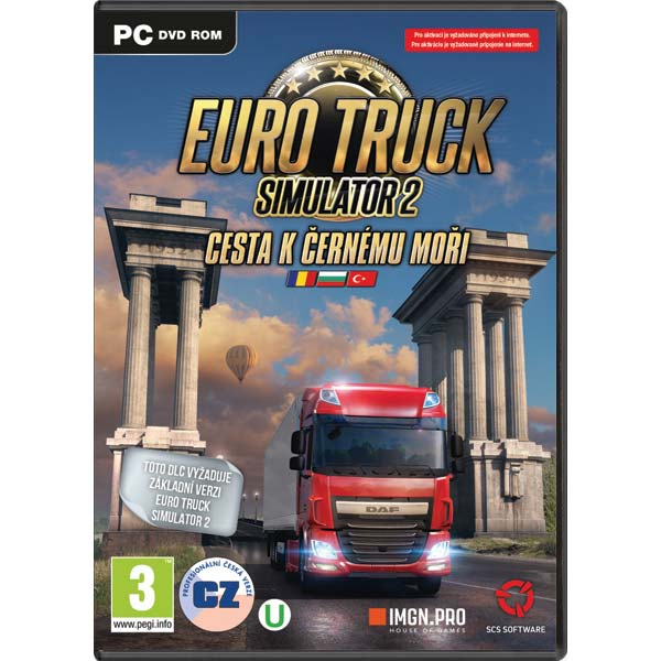 Euro Truck Simulator: 2 Cesta k Černému moři CZ