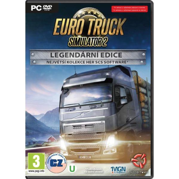 Euro Truck Simulator 2 CZ (Legendární edice) PC