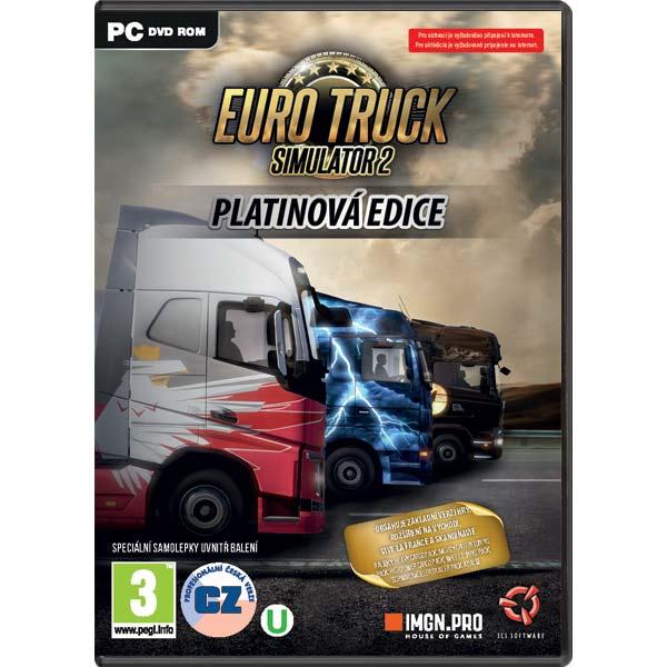 Euro Truck Simulator 2 CZ (Platinová Edice) PC