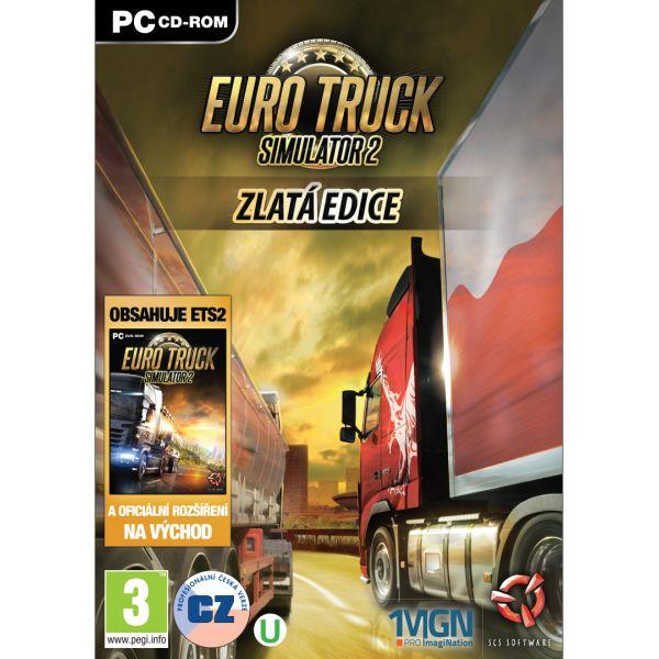 Euro Truck Simulator 2 CZ (Zlatá edice) PC