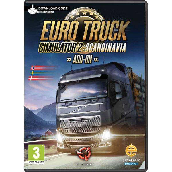 Euro Truck Simulator 2: Scandinavia CD-key