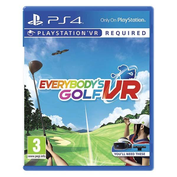 Everybody 's Golf VR PS4