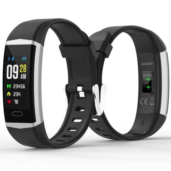 Evolveo FitBand B5-fitness náramek, Black