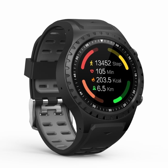 Evolveo SportWatch M1S-chytré sportovní hodinky s podporou SIM, Black