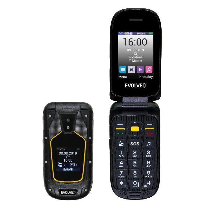 Evolveo StrongPhone F5, Dual SIM, Black-CZ distribuce