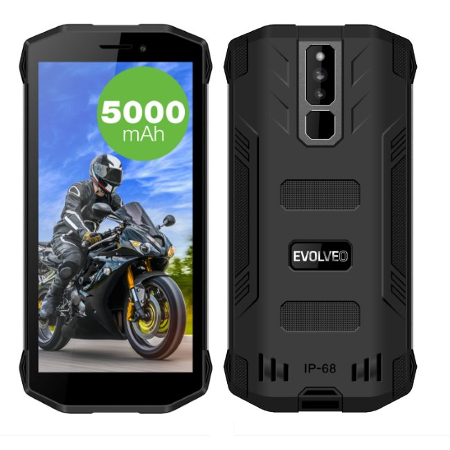 Evolveo StrongPhone G5, LTE, Dual SIM, Black-CZ distribuce