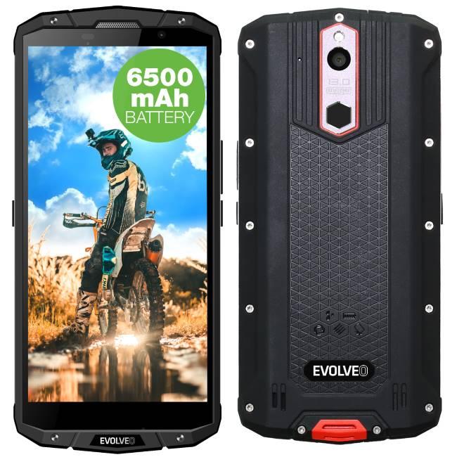 Evolveo StrongPhone G7, LTE, Dual SIM, Black-CZ distribuce