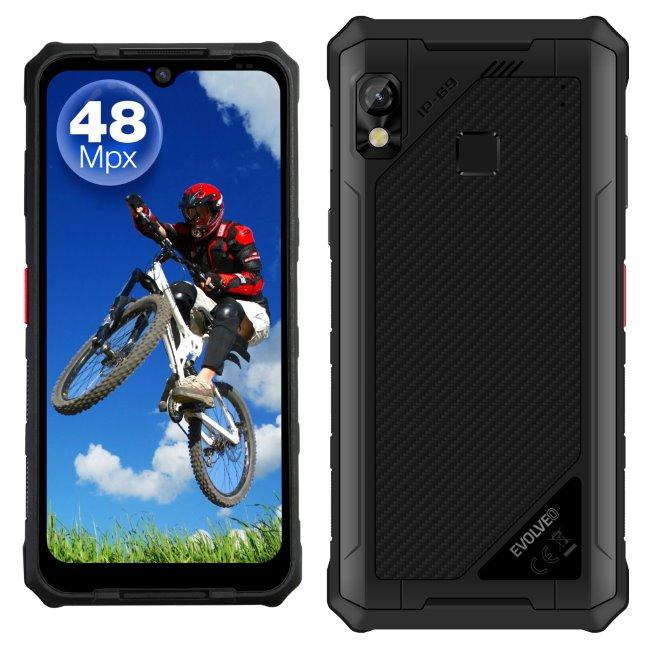 Evolveo StrongPhone G9, LTE, Dual SIM, Black-CZ distribuce