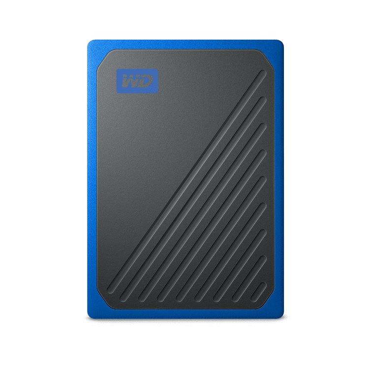 Western Digital SSD My Passport GO, 1TB, USB 3.0, Blue (WDBMCG0010BBT-WESN)