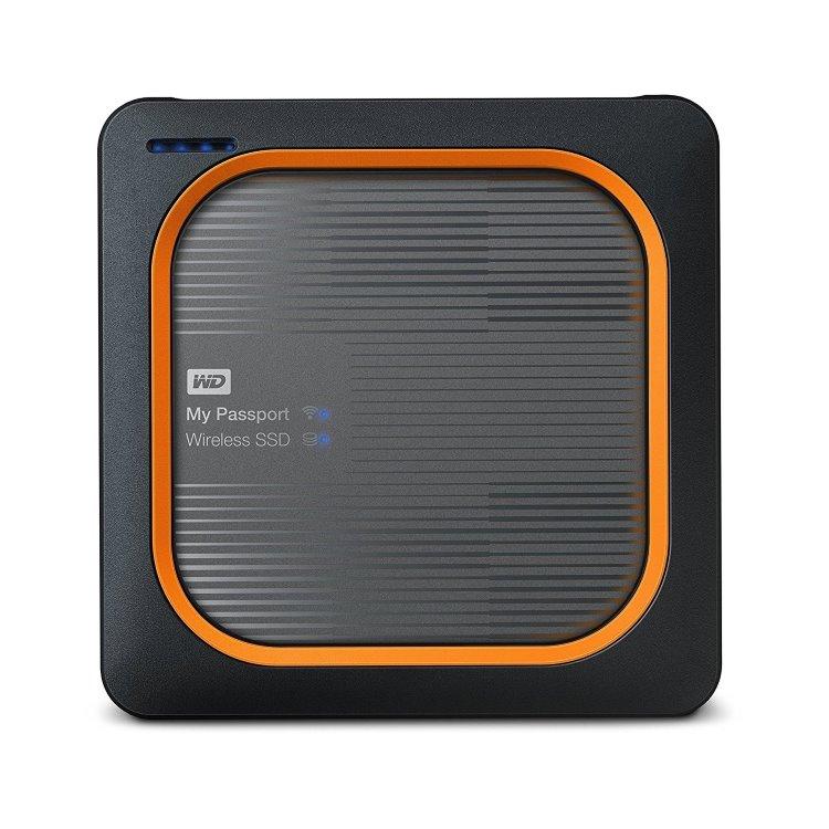 Western Digital SSD My Passport Wireless, 250GB, USB 3.0 (WDBAMJ2500AGY-EESN)