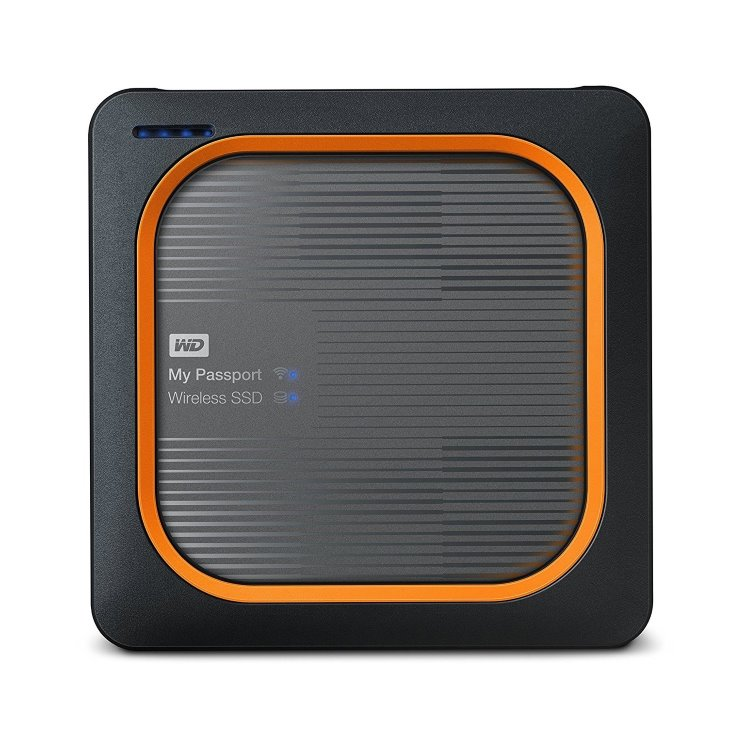 Western Digital SSD My Passport Wireless, 2TB, USB 3.0 (WDBAMJ0010BGY-EESN))